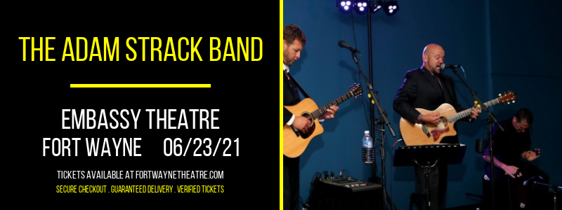 The Adam Strack Band at Embassy Theatre