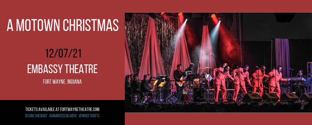 A Motown Christmas at Embassy Theatre